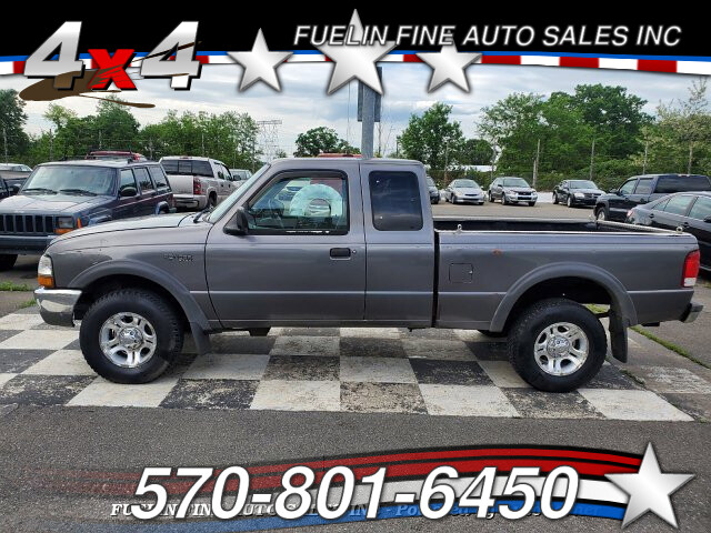 2000 Ford Ranger XL SuperCab 4WD 4-Speed Automatic
